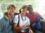 Jonathan, Jacob, & Vladimir - friends for life