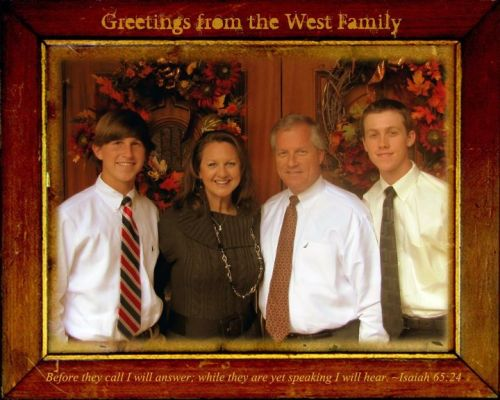 Merry Christmas from the West's
