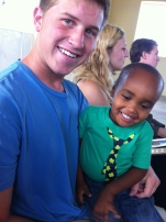 Jacob and Jocelyn at church