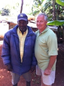 Two great men, enjoying a fabulous day of fellowship in the Pine Forest of Haiti. Tony & Pastor Joel Charles