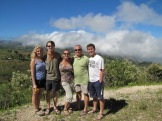 Our family visiting Haiti's National Pine Forest over Thanksgiving 2014.