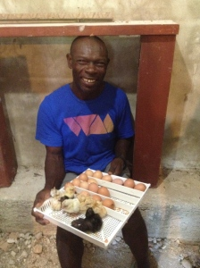 Makil's chicken business is BOOMING! He is praising God for provision.