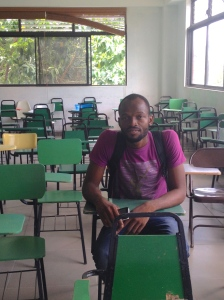 This is Jores in one of his classrooms.