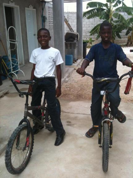 JohnnyBicly first bikes