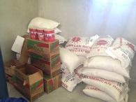 We finally got enough sponsors to start the feeding program!!
