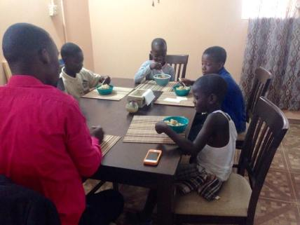 Boys Bible study