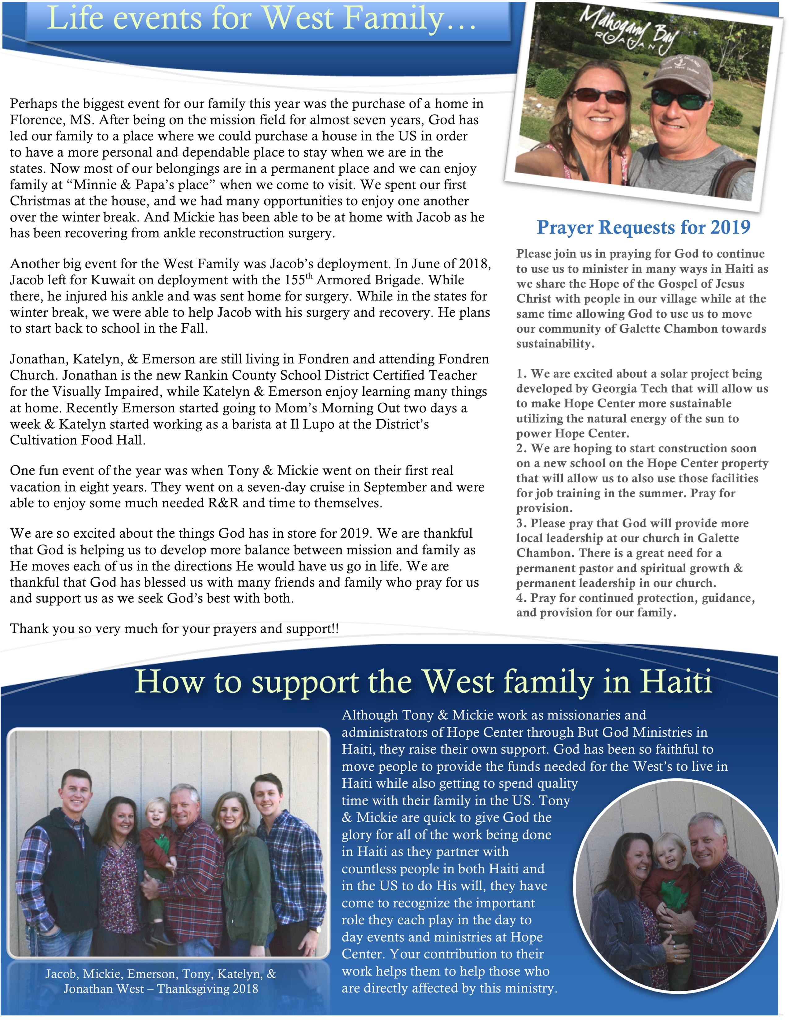Newsletter April 2019 pg 2